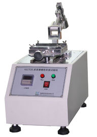 China IULTCS Leather Test Machine Color Fastness To Rubbing With Reciprocating Method supplier