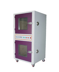 China Floor Customizable Battery Lab Equipment Over Charge and Discharge Tester Explosion Proof Protection Tank supplier