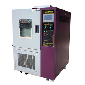 China LCD Touch Screen 80 - 1000L High and Low Temperature Programmable Temperature Environmental Test Chamber supplier