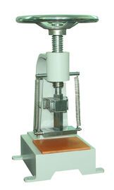 China JIS / UL / ASTM Manual Rubber Testing Equipment Machine Rubber Tester supplier