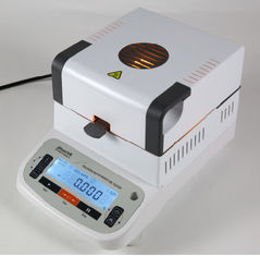 China LCD Display Halogen Rapid Moisture Meter / Paper Moisture Meter supplier