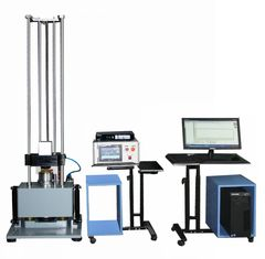 China 1900KG 380V 50HZ Half Sine Shock Test Equipment With Safety Protection Systems supplier