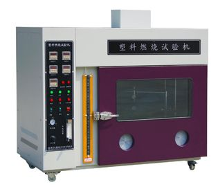 China UL 94 Plastic Materials Battery Testing Equipment Vertical Horizontal Flammability Testing Machine supplier