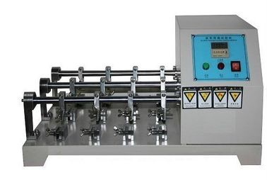 China Flexing Resistance Testing Machine , Leather Crumpling Resistance Tester Six Station supplier