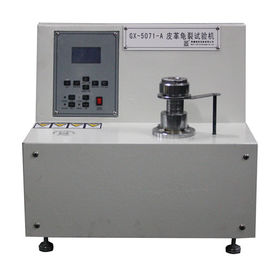 China Footwear Industry Leather Cracking Testing Machine , Micro Computer Control supplier