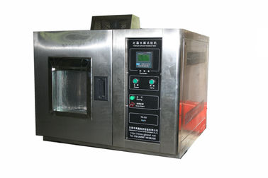 China Touch Screen ASTM F 609 Shoe Materials Frosting and Hydrolysis Testing Equipment supplier
