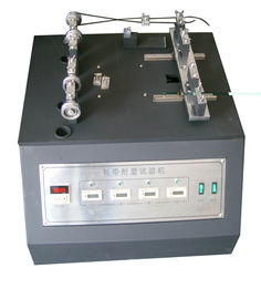 China ISO 22774 Shoelace Abrasion Resistance Tester , Lace to Lace Abrasion Testing Machine supplier