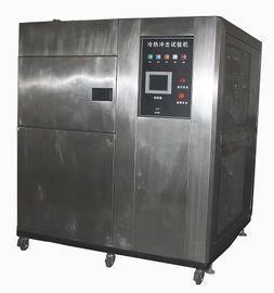 China Independent Three Zone Temperature Rande of -40℃ ~ +150℃ Cold Heat Temperature Fast Change Thermal Shock Test Chamber supplier