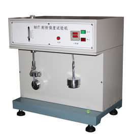 China Automatic Paper Testing Equipments , Cardboard / Aluminium - Foil Paper Folding Endurance Tester supplier