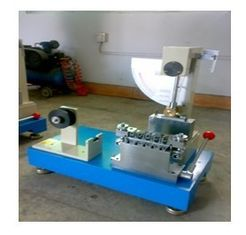 China 90 Degrees Angle APPI Paper Testing Equipments for Internal Bond Impact Test supplier