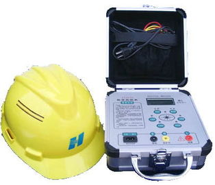 China EN 397 and ANSI Z89 Standard Portable Safety Helmet Anti Static Resistance Tester supplier
