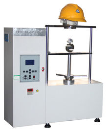 China Safety Helmet Testing Machine Chin Strap Strength Lateral Stiffness Tester supplier
