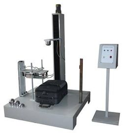 China Electric Luggage Testing Equipment , Electromagnetic Control Drop Hammer Impact Tester supplier