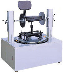 China Micro computer controller Chair Testing Machine , Office Chair Swivel Cycling Durability Tester supplier