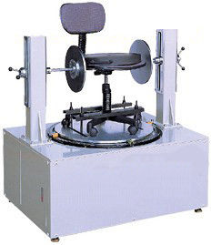 China Swivel Cycling Durability Chair Testing Machine With Microcomputer Controlling supplier
