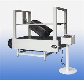 China Conveyor Belt Type Luggage Testing Equipment / Machine Abrasion Tester supplier