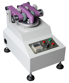 China DIN Test Standard TABER Abrasion Tester , Leather Laboratory Equipment supplier