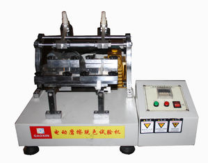 China ASTM 2054 Electronic Crockmeter , AATCC - 8 Color Fastness Tester to Rubbing supplier