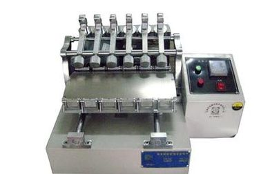 China Laboratory Friction Leather Testing Equipment , JIS Test Color Dyeing Fastness Tester supplier