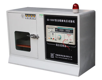 Insulated Shoes Footwear Testing Equipment For Withstanding Voltage Test