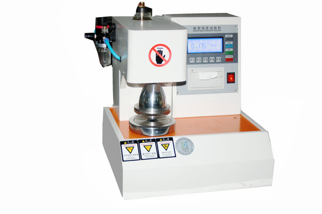 Automatic Rupture PaperBobard Brusting Tester LCD Display