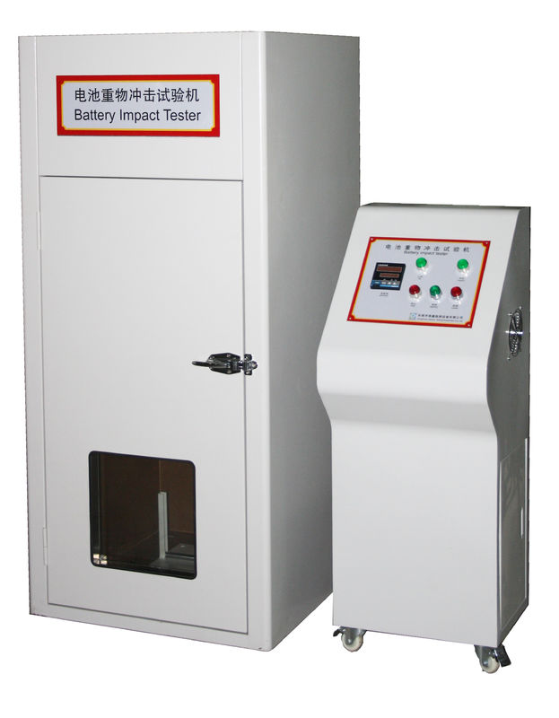 Lithium Battery Testing Equipment UN38.3 Cell 9.1kg Mass Free Fall Impact Test Machine