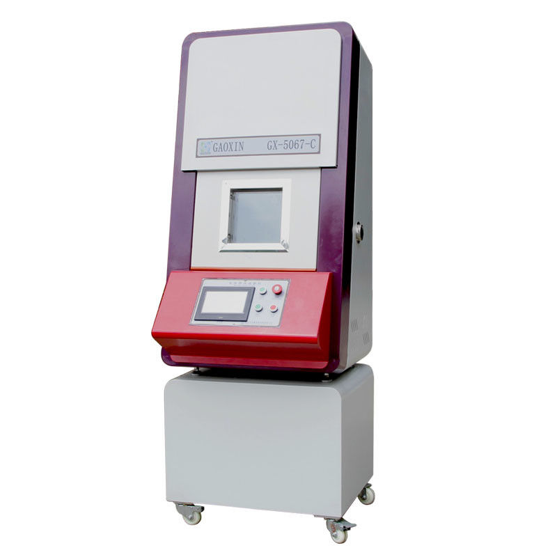 UL 2054 PLC Touch Screen Nail Penetration Puncture Testing Machine For Battery Packs System