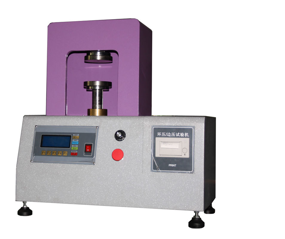 Paper Test Instruments : Paper testing equipment ring crush strength tester for