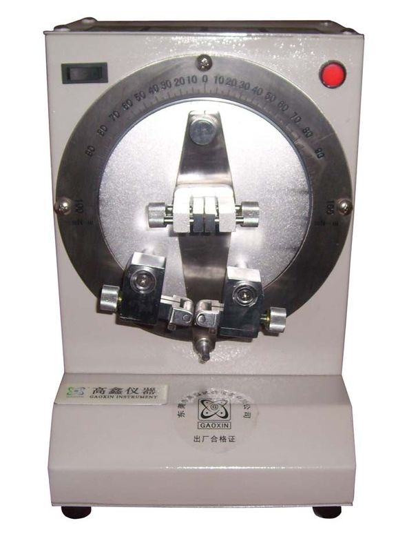 Manual 304# Stainless Steel Paper Testing Equipments Taber Stiffness Tester