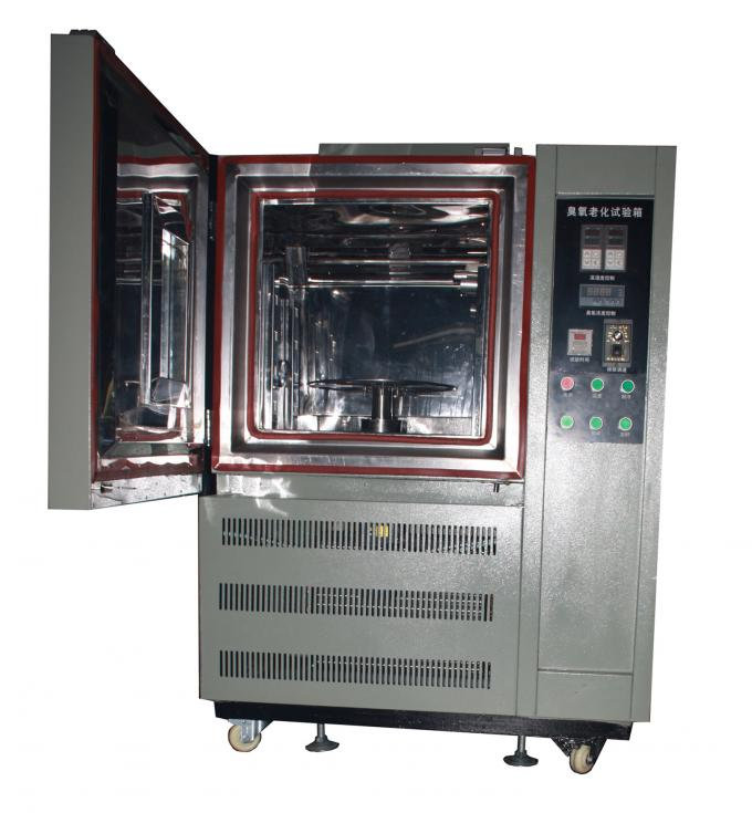 Thermoplastic Rubber Laboratory Equipment Ozone Aging Test Chamber JIS K 6259 , ASTM1149