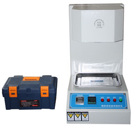 China High Precision Temperature Control Melt Flow Rate Tester Easy Operation factory