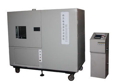 China Power Battery Packs Crush Testing Machine 100 Ton Battery Testing Equipment factory