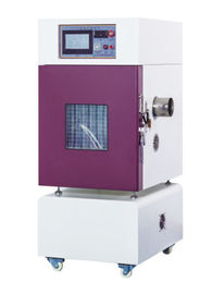 China RT + 10~100℃ Battery External Short Circuit Test Chamber PLC / Remote Control upto 1000A ( UN38.3.4.5) factory