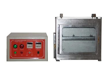 China Auto Mobiles Interior Material Burning Test Machine Leather Flammability Tester factory