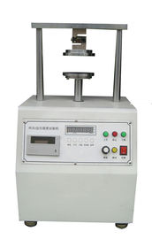 China Paper Ring Crush Compression Resistance Tester Paper Testing Instruments 12.7mm/Min factory
