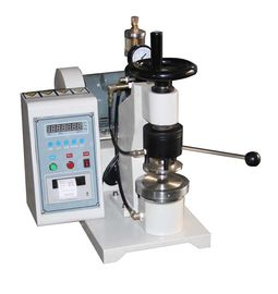 China High Pressure Paper Testing Equipments , Manual Bursting Strength Tester factory