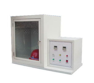 China Electronic Ignition Helmet Testing Equipment For Flame Resistance Test distributor