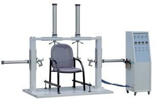 China Single Column Chair Testing Machine , Office Chair Armrest Strength Tester for Furniture Test distributor