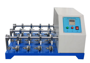 China Leather Bending Resistance Testing Machine , BALLY Leather Flexing Resistance Tester factory