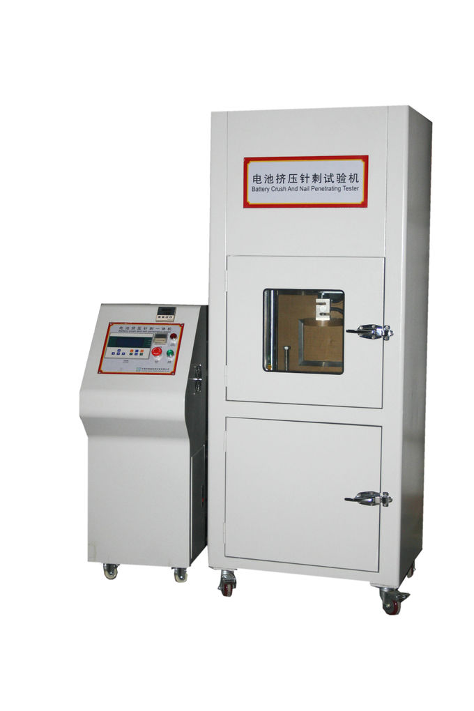 Lithium Battery Safety Testing Equipment , Cell Battery Penetration Testing Equipment