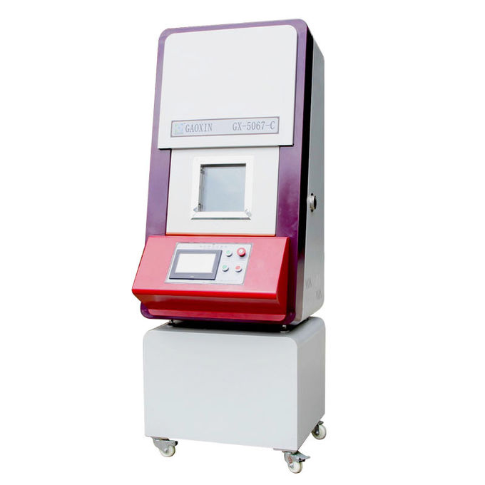 13 KN Vertical PLC Control Battery Lab Tester Hydraulic Drive Battery Crush Testing Machine with UN 38.3