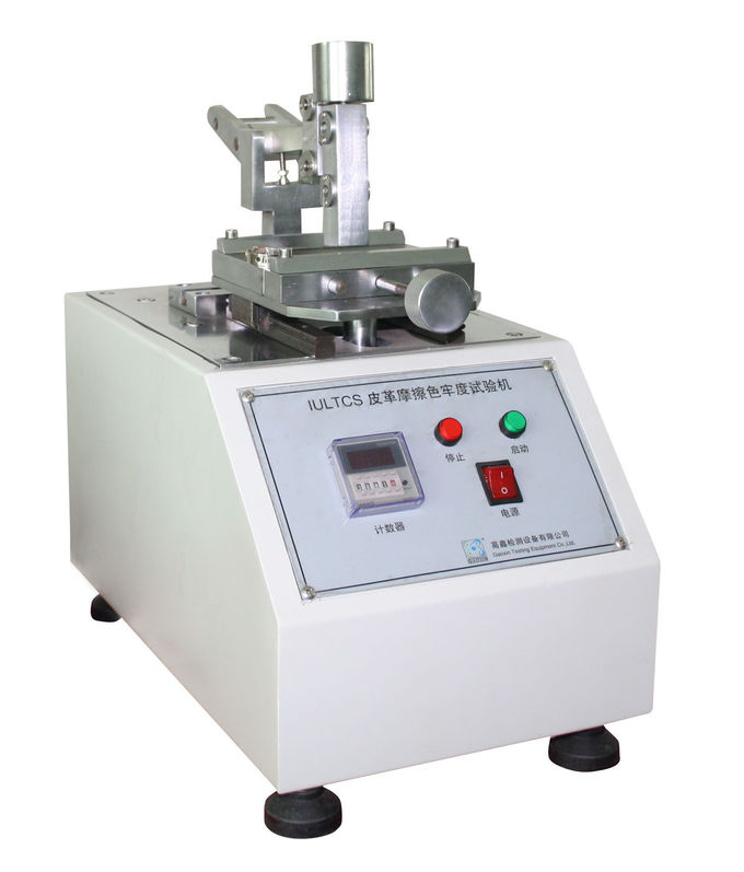Textile Leather Testing Equipment ULTCS Rubbing Color Fastness Tester for ISO 11640