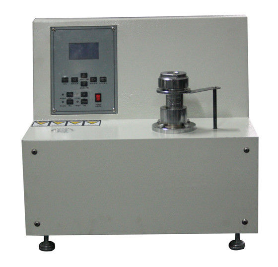 Footwear Industry Leather Cracking Testing Machine , Micro Computer Control