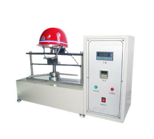 High Accuracy LED Display Helmet Testing Equipment For Chin Strap Strength Test