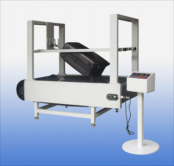 Conveyor Belt Type Luggage Testing Equipment / Machine Abrasion Tester