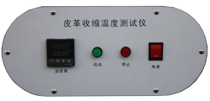 Portable Appliance Leather Testing Equipment With Temperature Control And Led Display