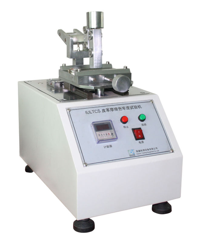 Table Vertical IULTCS Leather Testing Equipment Fastness Abrasion Tester SATRA PM173